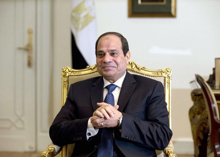 السيسى يستقبل رئيسى البرلمان القبرصى ومجلس النواب اللبنانى