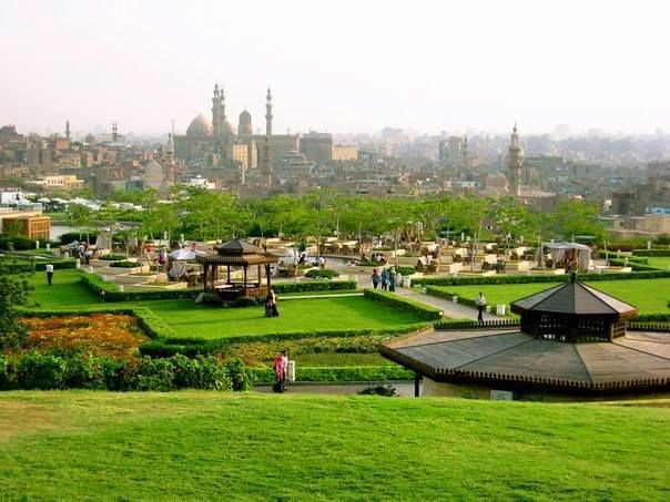 حديقة الازهر – القاهرة الفاطمية