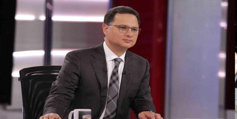 """شريف عامر يرصد آثار الانفجار من داخل معهد الأورام على""""MBC مصر"""""""