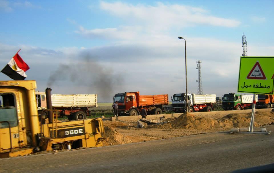 بسبب أعمال التطوير تحويلات مرورية بطريق بورسعيد الإسماعيلية لمدة 5 أشهر