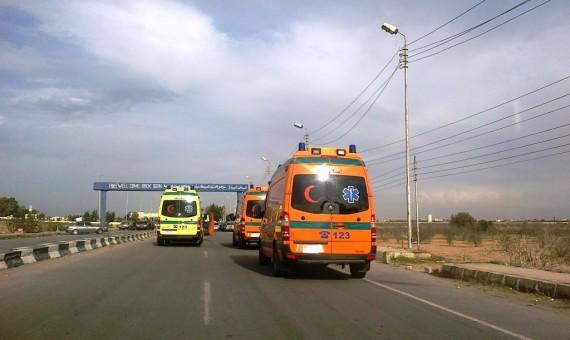 مصرع 3 مواطنين وإصابة 5 آخرين بطريق القاهرة السويس