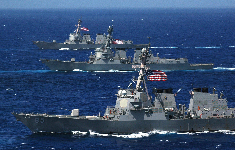 الصين تعارض بشدة انتهاك سفينة حربية أمريكية مياهها الإقليمية