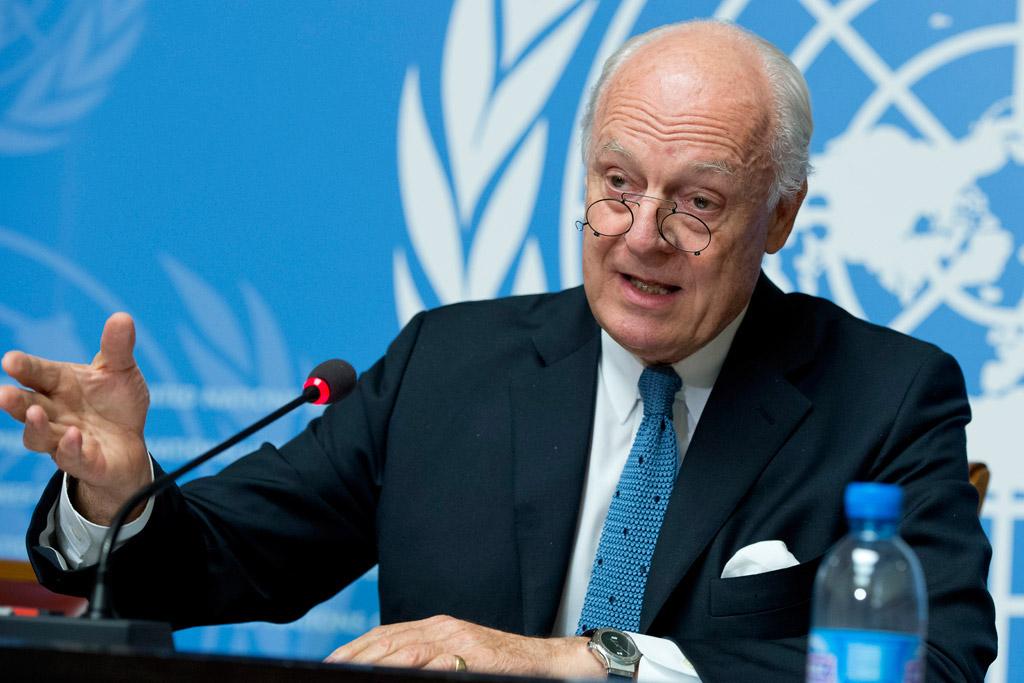 دي ميستورا يرغب في استئناف العملية الدستورية السورية
