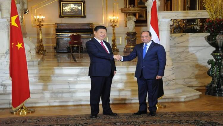 شى جين بينغ : الرئيس  السيسي صديق عزيز ومصر شريك رئيسي