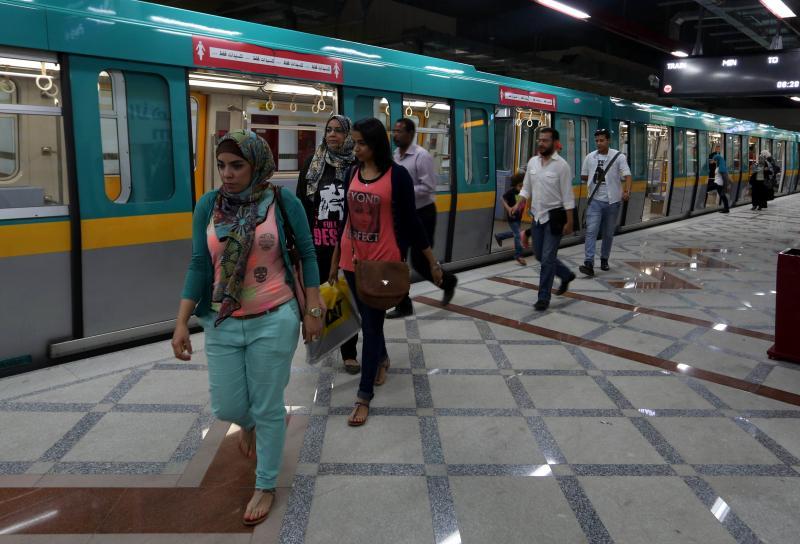 أجهزة الأمن تضبط متهم تحرش بفتاه داخل مترو الانفاق