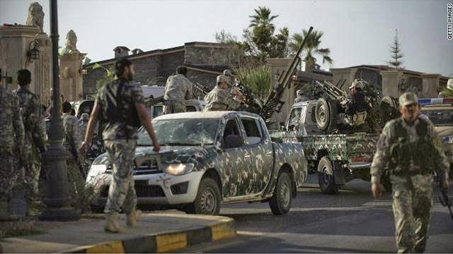 حكومة الوفاق تعلن وقف إطلاق النار فى كامل الأراضى الليبية