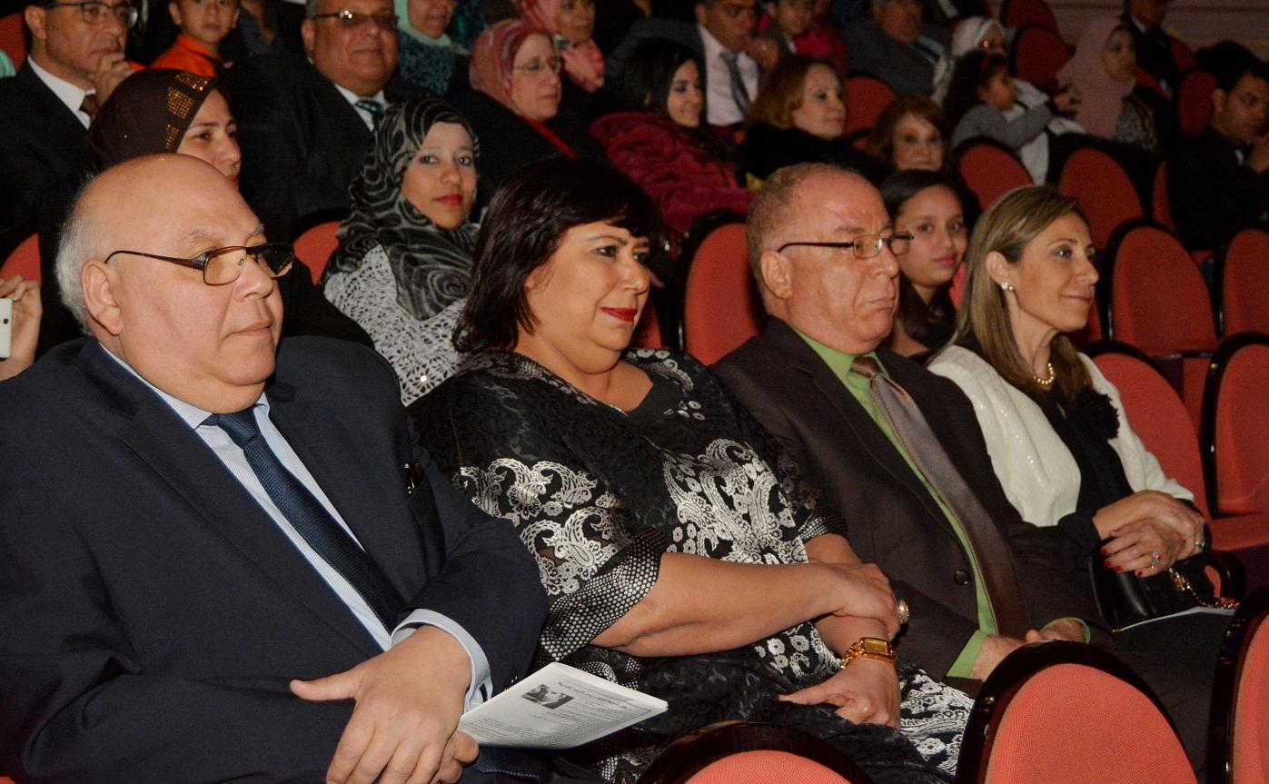 """وزير الثقافة يشهد حفل """" ست الحبايب"""" لمركز تنمية المواهب بدار الأوبرا"""
