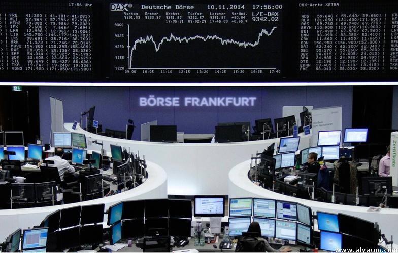 الأسهم الأوروبية تغلق متباينةبعد قفزة عقب الانتخابات النصفيةفي أمريكا