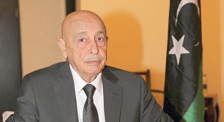 عقيلة صالح يبحث مع الصحة العالمية الوضع الوبائي لكورونا في ليبيا