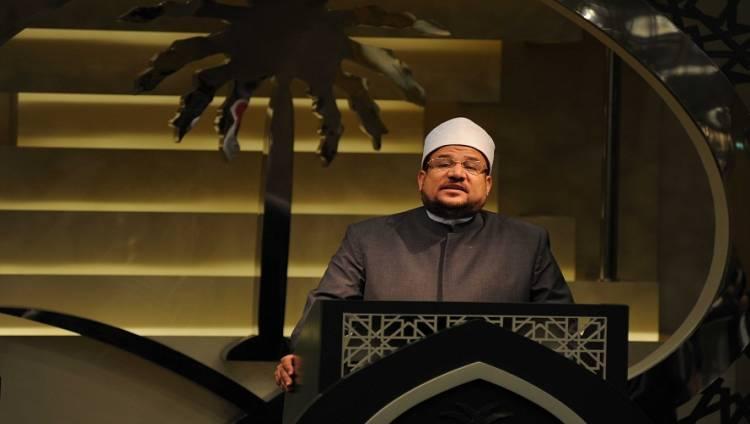 وزير الأوقاف يلقي خطبة الجمعة عن «الوفاء بالعهود»