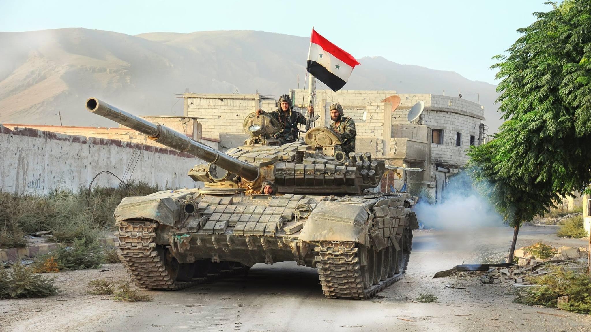 """الجيش السورى يسيطر على """"خان شيخون"""" فى ريف إدلب الجنوبى"""