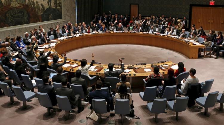 """مجلس الأمن الدولي يوافق على مشروع قرار """"بريطاني"""" حول وقف إطلاق النار في ليبيا"""