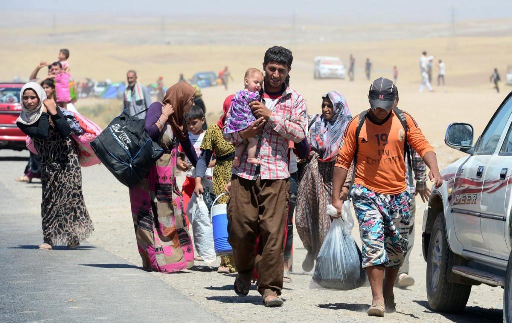 نزوح 2000 عائلة من محافظة ذى قار العراقية بسبب شح المياه