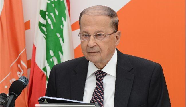 رئيس لبنان يعزى السيسي فى ضحايا حادث الكنيسة