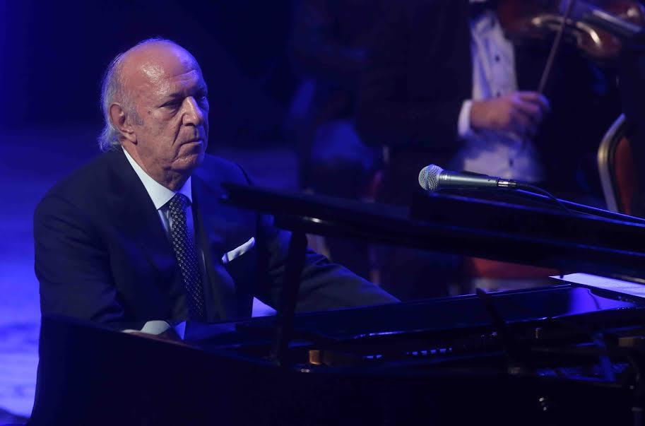 عمر خيرت يقدم باقة من أشهر مؤلفاته الموسيقية بدار الأوبرا