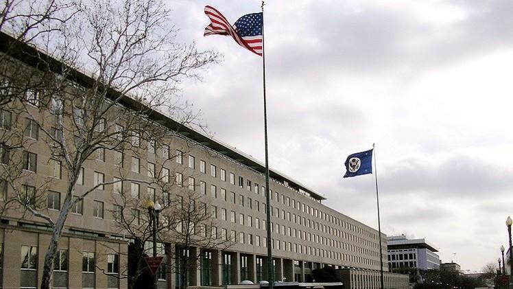 الخارجية الأمريكية تدين استهداف الحوثيين لقاعدة العند الجوية جنوبي اليمن