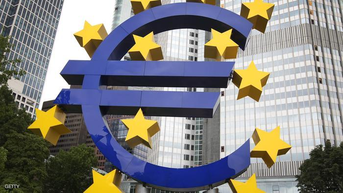 الناتج المحلي لمنطقة اليورو يسجل أكبر انخفاض في الربع الثاني رغم التعديل صعوداً