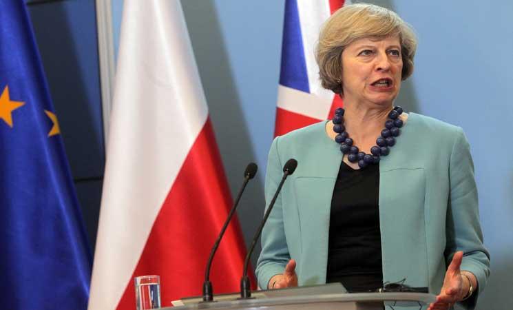 ماي : المصلحة الوطنية دفعت بريطانيا لمهاجمة سورية وليس ترامب