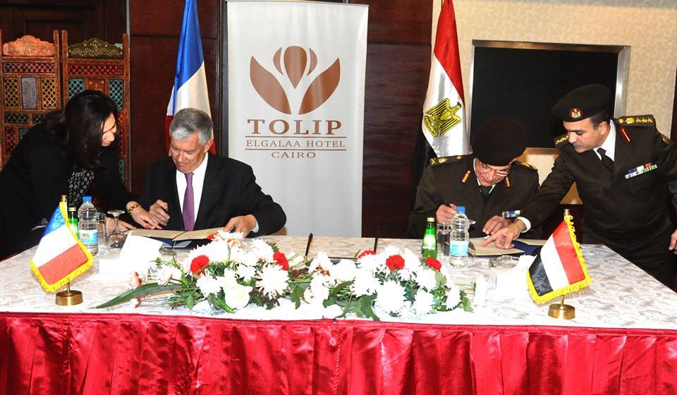 القوات المسلحة توقع بروتوكول تعاون مع فرنسا في المجال الطبي