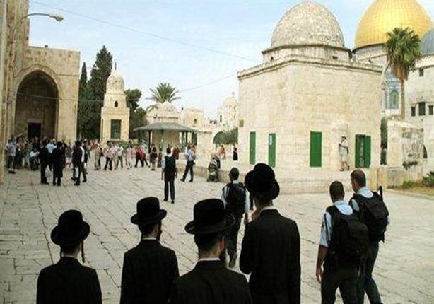 في حراسة القوات الإسرائيلية.. مستوطنون يقتحمون ساحات الأقصى