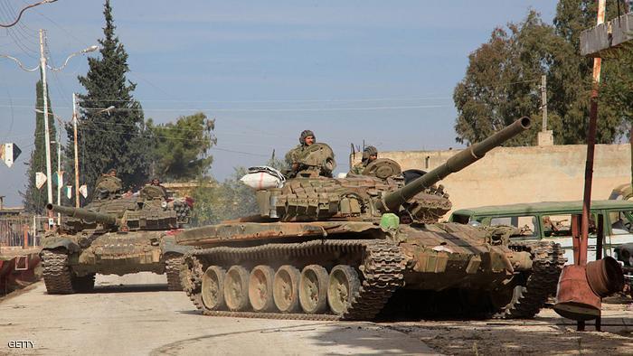 الجيش السوري يقتل 5 جنود أتراك في قصف لنقطة مراقبة بريف إدلب