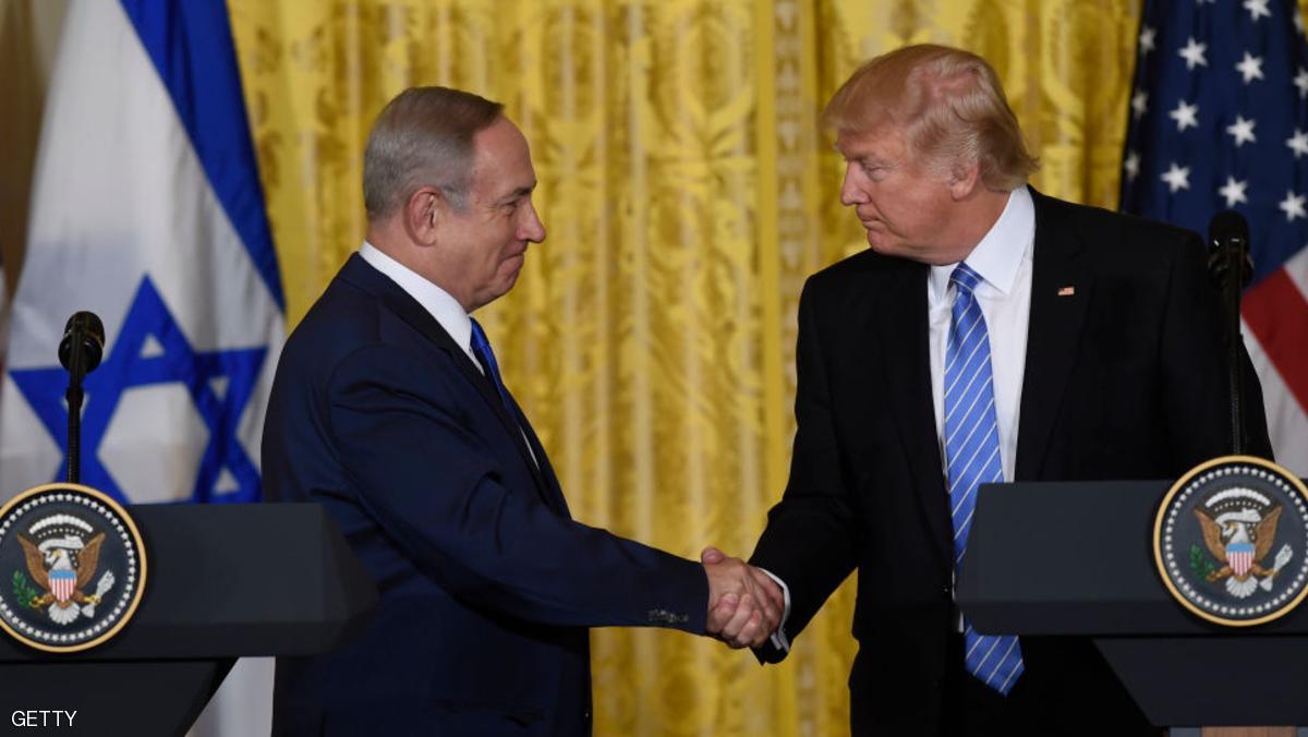 ترمب : أمريكا ستشجع  التوصل لاتفاق سلام بين فلسطين واسرائيل