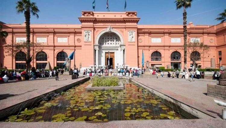 المتحف المصري يعرض القطع الأثرية المستردة من إيطاليا