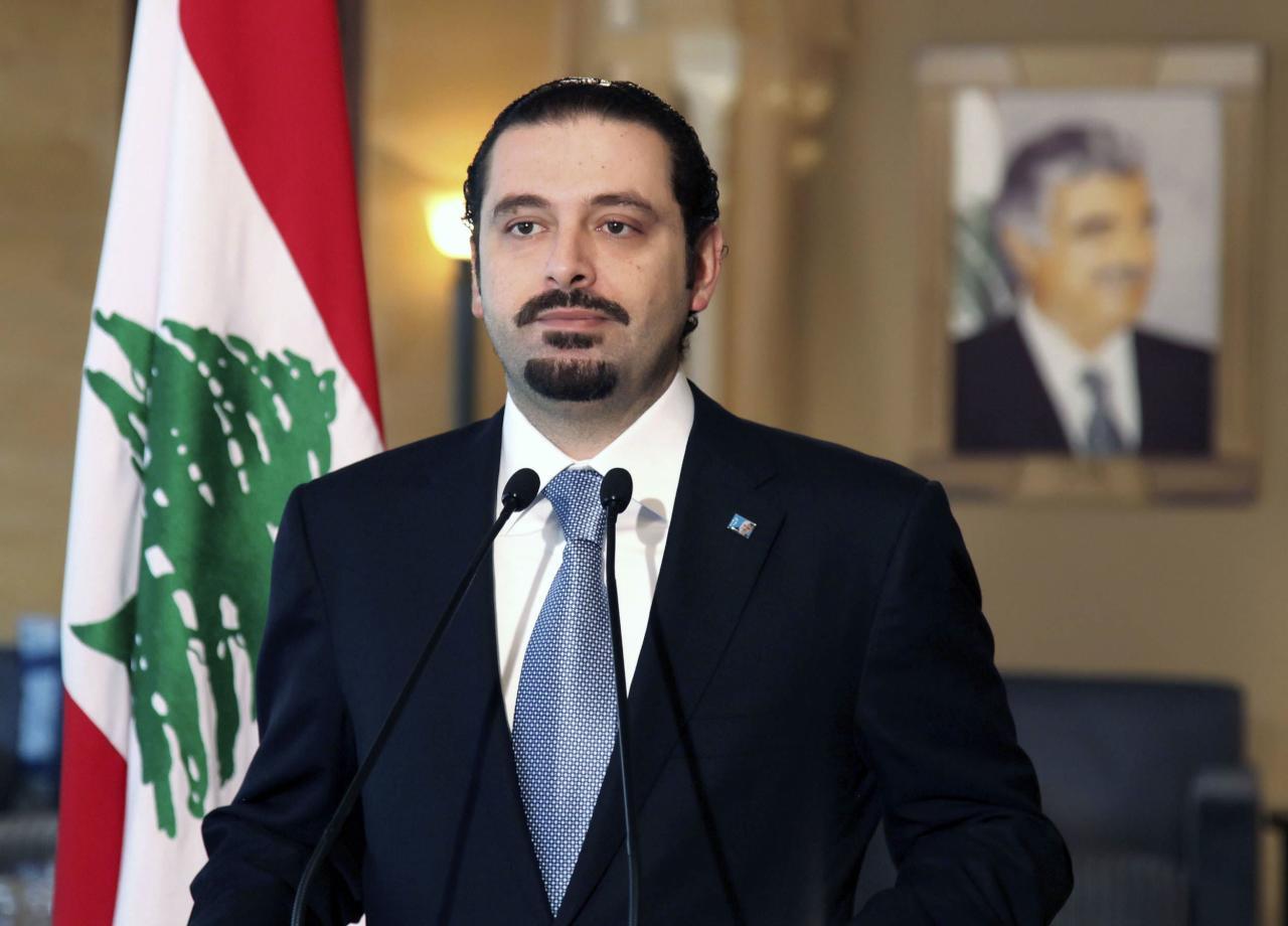 رئيس الوزراء اللبناني يتلقى رسالة تهنئة من الملك سلمان بمناسبة تشكيل الحكومة