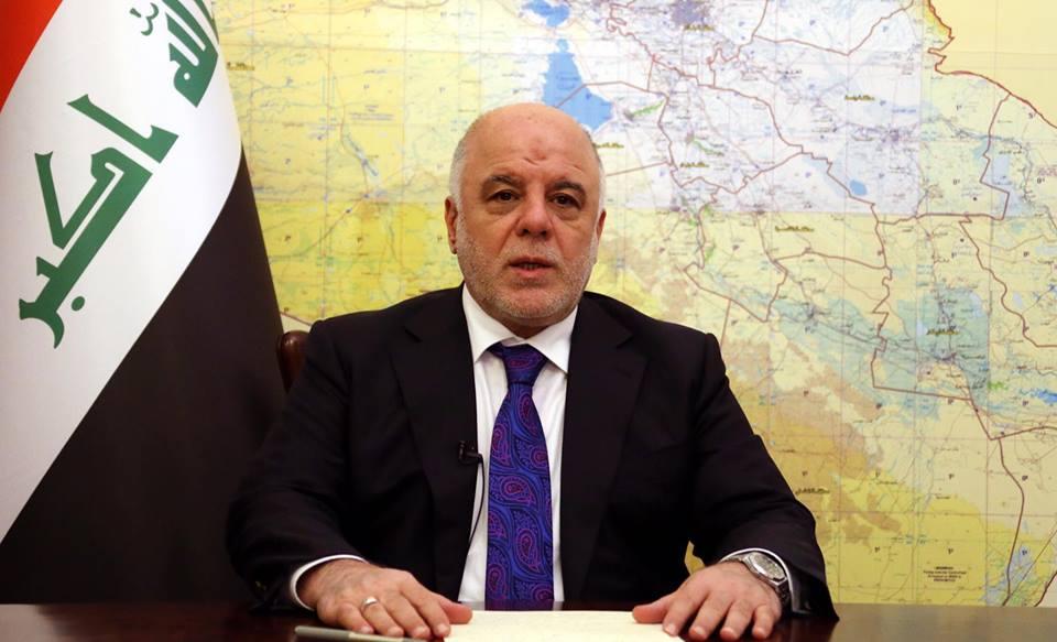 العبادي : العراق في حاجة إلى الدعم الأمريكي في حربها على الإرهاب