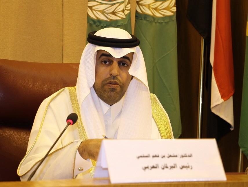 رئيس البرلمان العربي يدين إطلاق ميليشيا الحوثي الانقلابية طائرات مسيرة مفخخة على السعودية