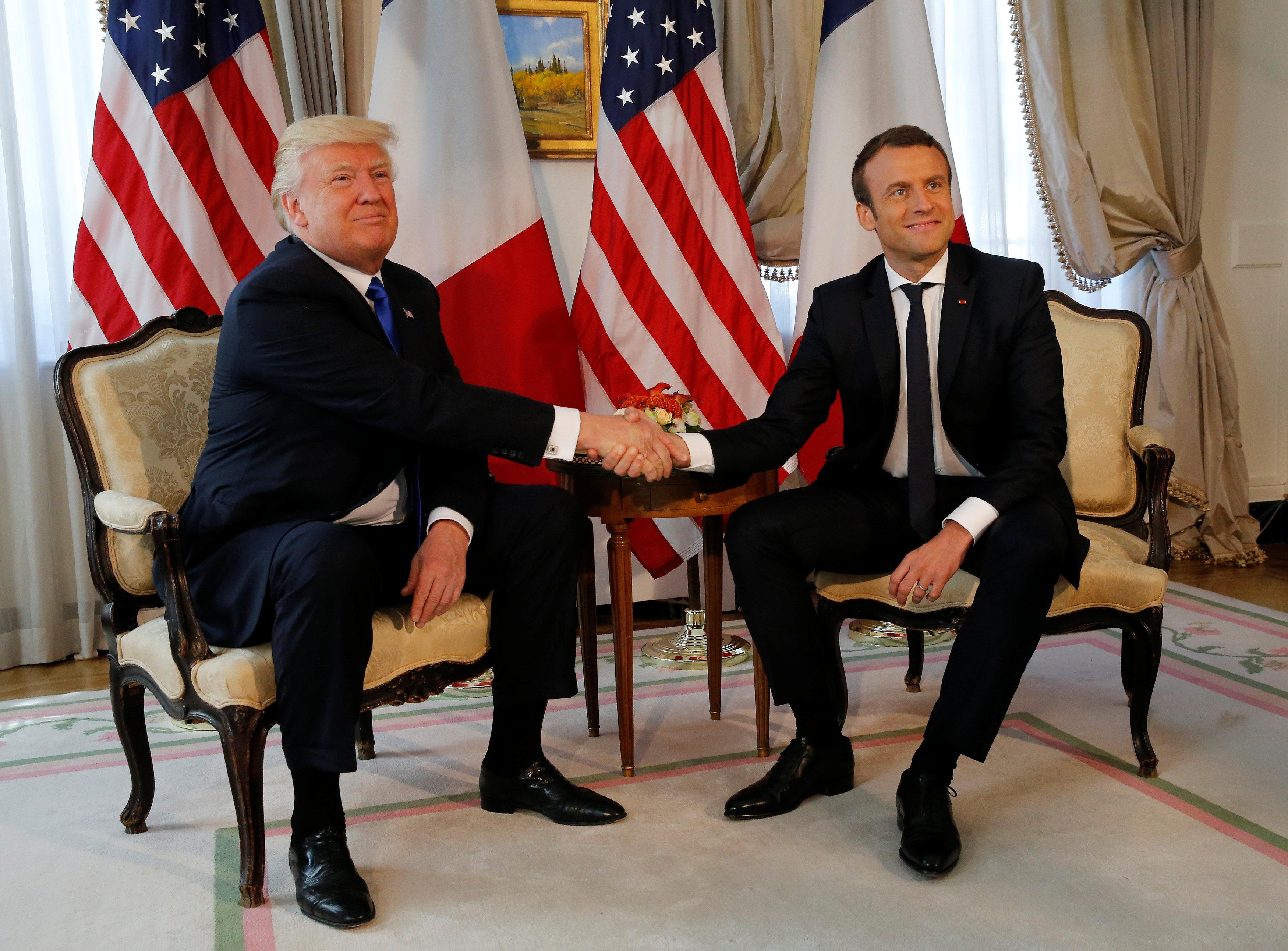 ماكرون يلتقي «صديقه» ترامب وسط خلافات عميقة في وجهات النظر