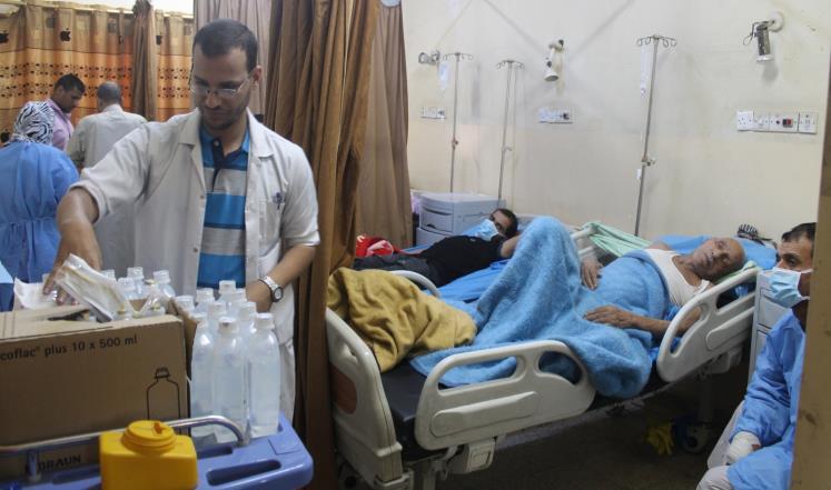 الأمم المتحدة تحذر من تفشي الكوليرا في اليمن بعد الهجوم على مستشفى