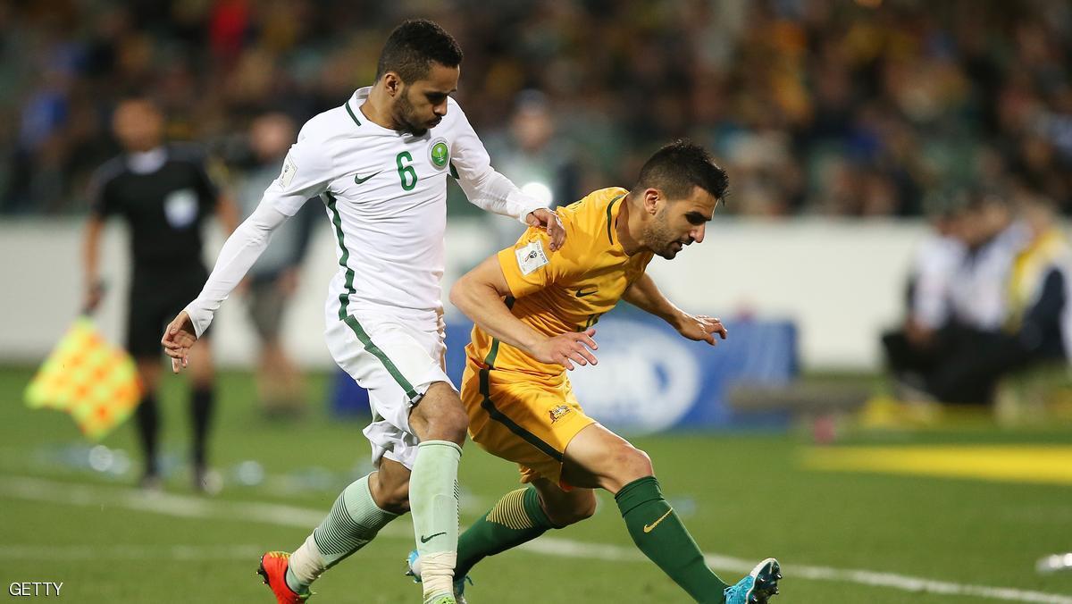 السعودية تتعثر أمام استراليا في تصفيات كأس العالم