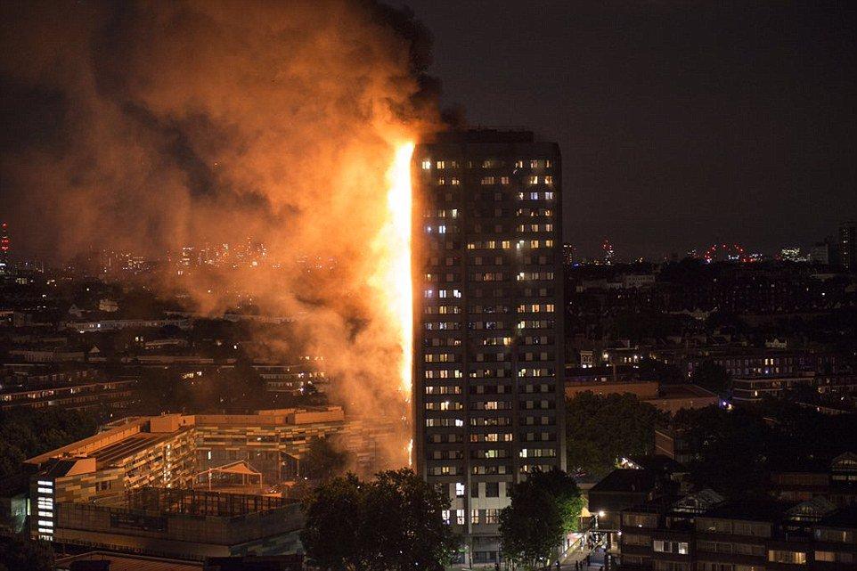 7 مغاربة بين ضحايا حريق البرج السكنى فى العاصمة البريطانية لندن
