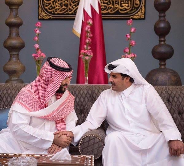 أمير قطر يهنئ ولي عهد السعودية الجديد رغم استمرار الأزمة