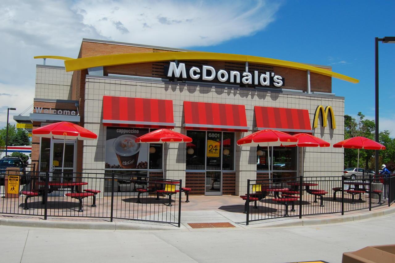 سلسلة مطاعم ماكدونالدز تنهي عقد رعايتها مع اللجنة الأولمبية الدولية