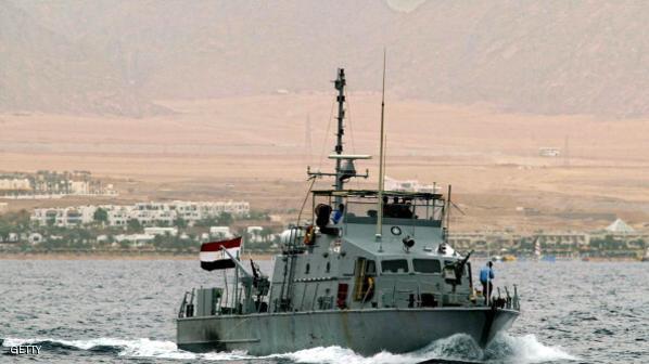 القوات البحرية تتمكن من إنقاذ سفينة إيطالية شمال مرسى مطروح
