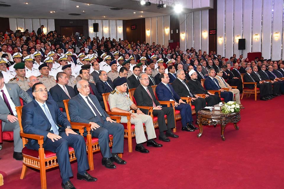 مشاركة الرئيس السيسي في مؤتمر «إزالة التعديات على أراضي الدولة» الأبرز بصحف