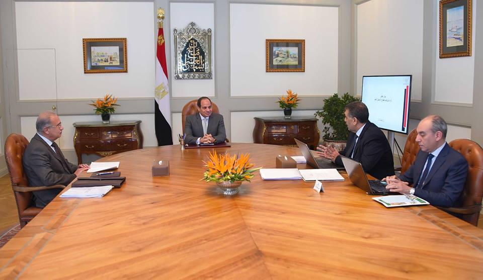 نشاط الرئيس السيسي والشأن المحلي يتصدران عناوين الصحف المصرية