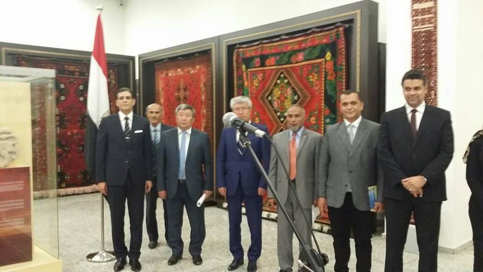 صور | افتتاح معرض الاّثار المصرية «السلطان بيبرس وعصره» فى كازاخستان