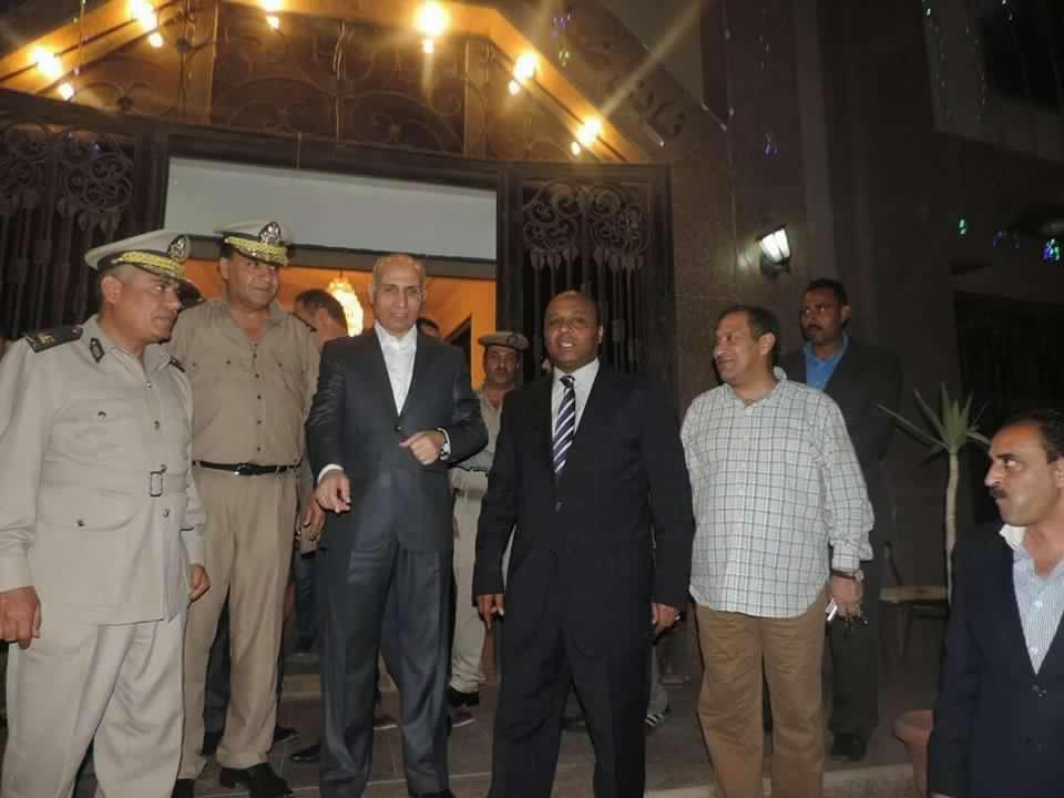 مديرية أمن الغربية تنظم مأدبة إفطار لأسر شهداء الشرطة بالغربية