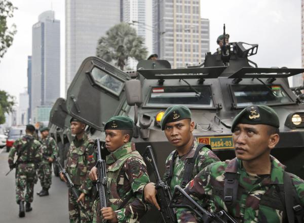 إندونيسيا تعزز الأمن في الجزر القريبة من جنوب الفلبين لمنع انتشار نفوذ داعش