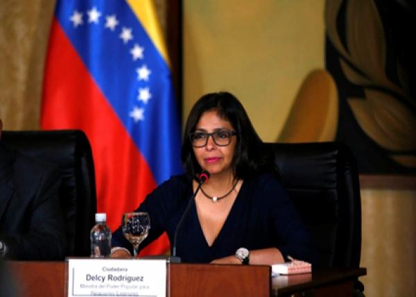 وزيرة خارجية فنزويلا تترك منصبها للترشح لشغل مقعد فى الجمعية التأسيسية