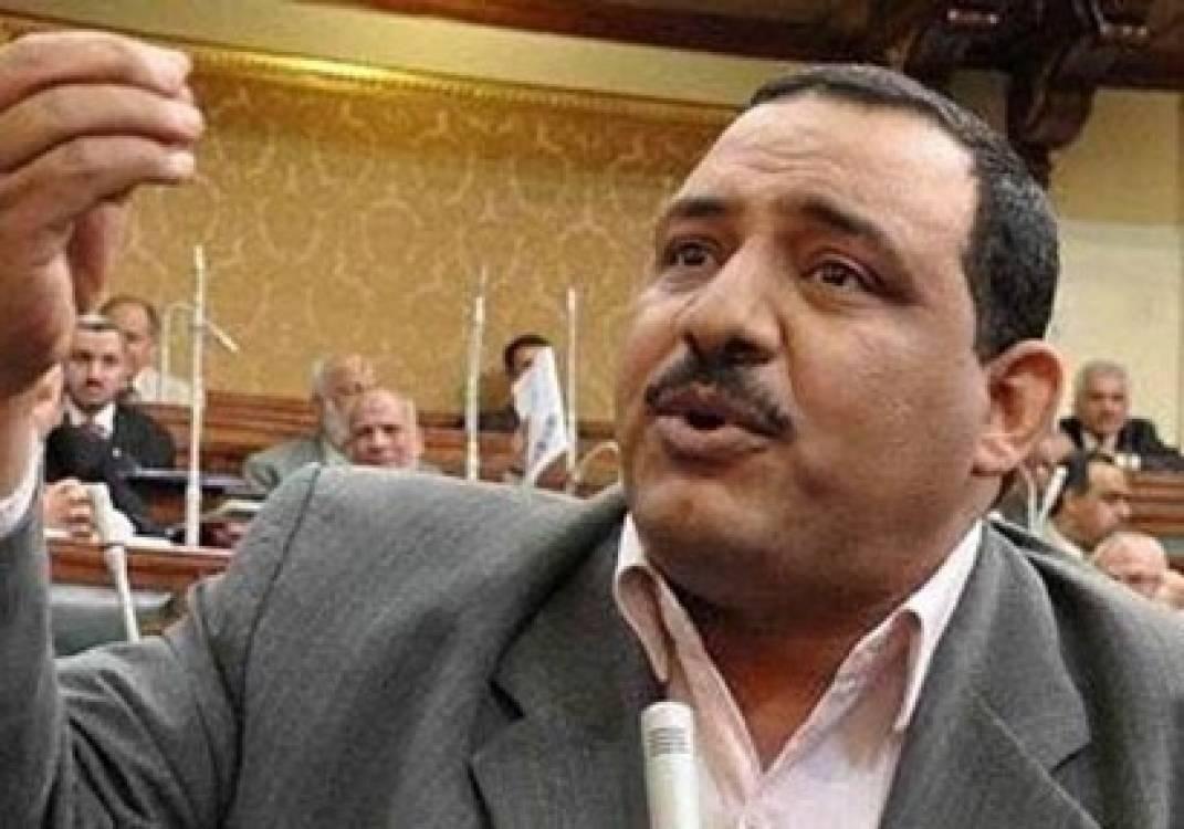 النيابة تأمر بحبس النائب السابق محمد العمدة 15 يوما على ذمة التحقيق