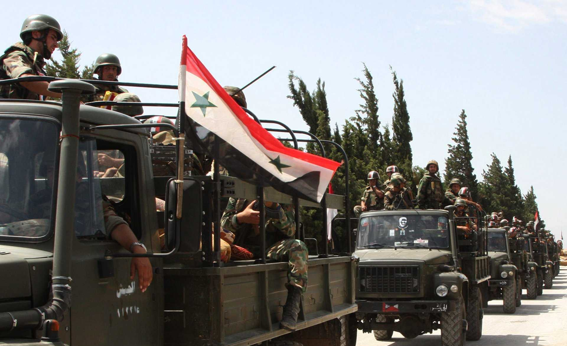 الجيش السوري يستهدف تجمعات إرهابية بريف إدلب وجنوب حلب