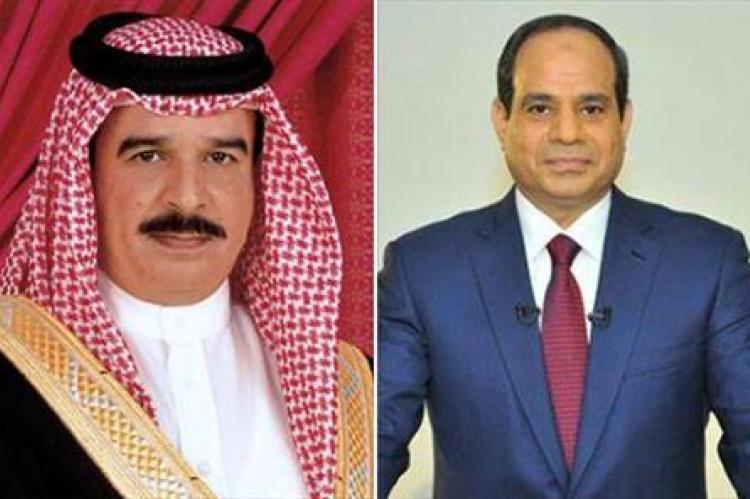 الرئيس السيسي وملك البحرين يتبادلان التهنئة بمناسبة عيد الفطر المبارك