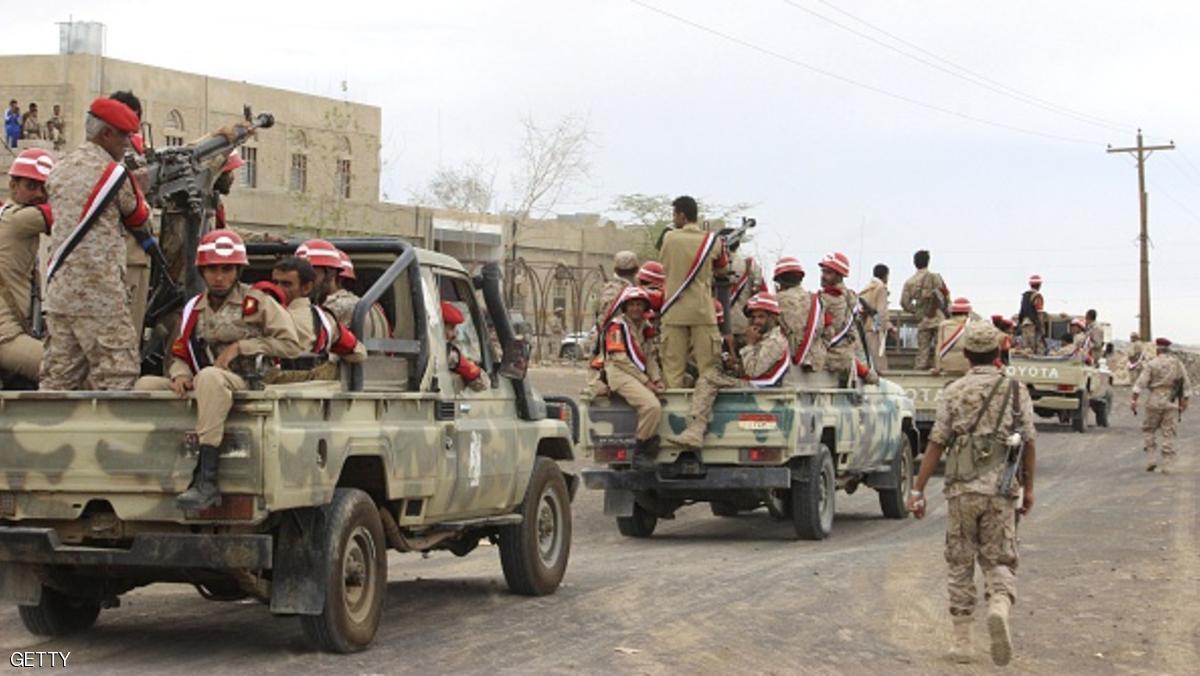 الجيش اليمني يعلن مقتل 40 عنصرا من الحوثيين في قصف للتحالف بالحديدة