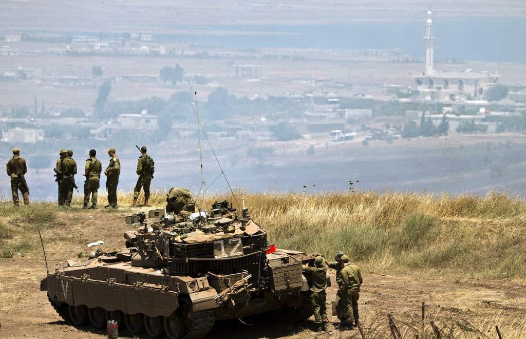 اسرائيل تعلن اسقاط مقاتلة سورية اخترقت مجالها الجوي