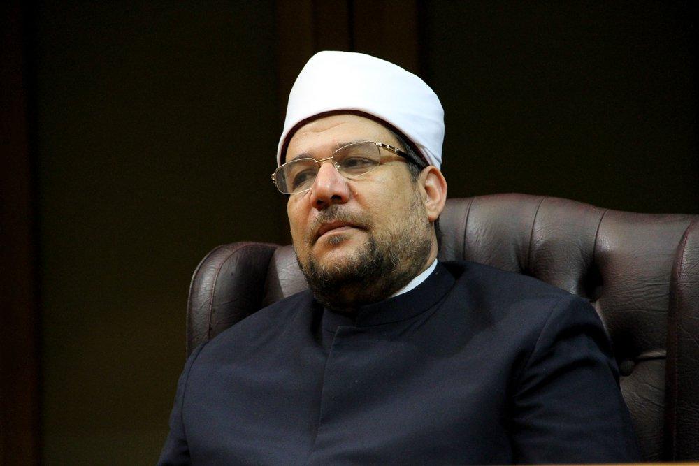 وزير الأوقاف يدعو لتشكيل تحالف جديد يتبنى الحق والعدل والإخاء بين الدول