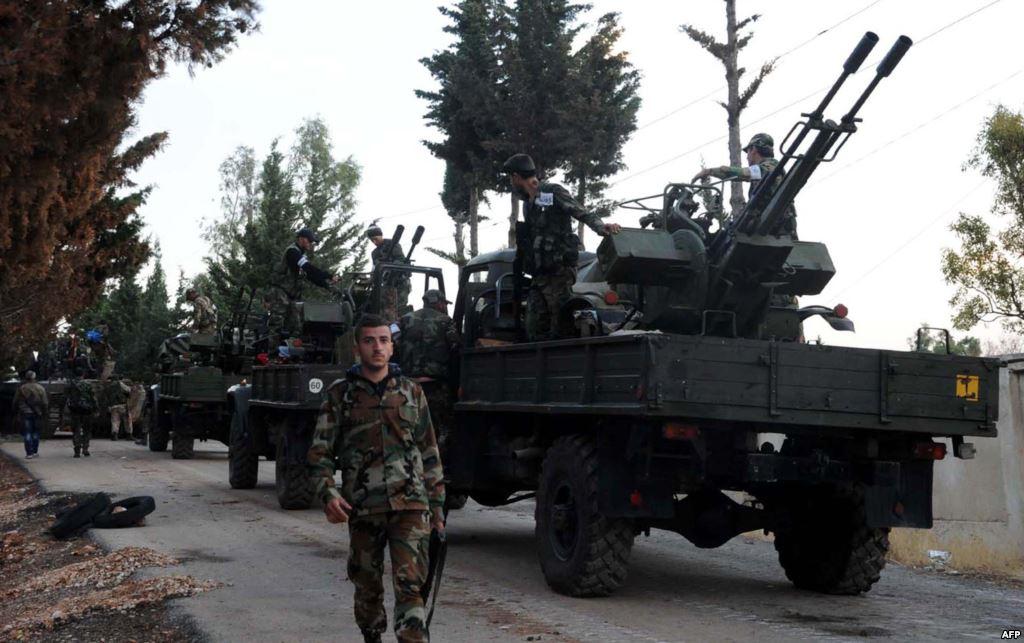 المرصد السوري : القوات الحكومية تسيطر على 80 بلدة وقرية بريف حلب الجنوبي